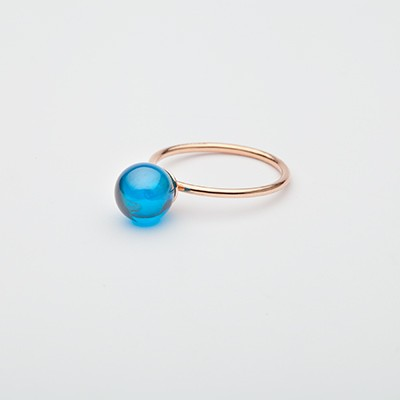 Big Babol ring blue