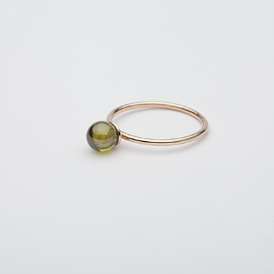 Small Babol ring green