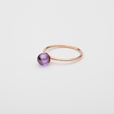 Small Babol ring violet
