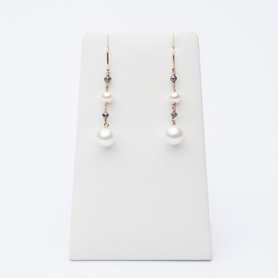 Elegant pendant earrings